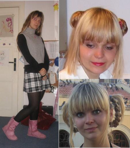 Teenager Martyna Lochstet