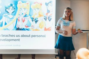 Nerdnite Berlin Sailor Moon Personality Development Martyna Lochstet